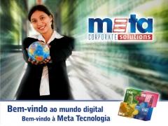 Bem vindo ao mundo digital da meta tecnologia.