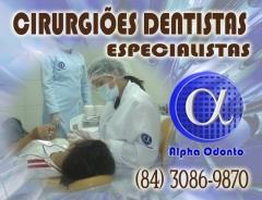 CirurgiÕes dentistas especialistas - (84) 3086-9870