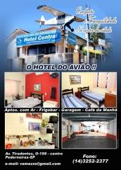 Hotel localizado no centro de pederneiras...