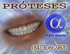 Pr�teses dent�rias - totais est�ticas - (84) 3086-9870