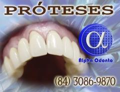 Próteses dentárias - totais e parciais estéticas - (84) 3086-9870