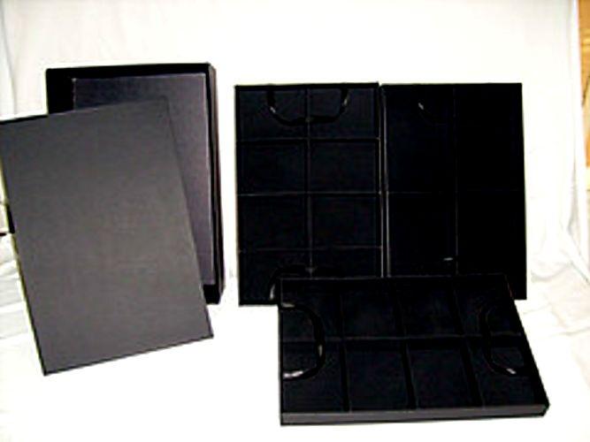 Caixa para bijuterias com 3 bandejas removíveis c/ 3 bandejas