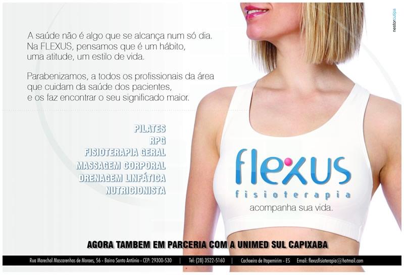 Anuncio Flexus Fisioterapia - Espirito Santo
