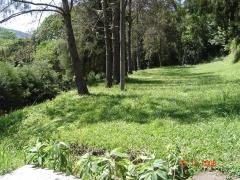 �rea para acampar na pousada colina verde