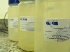Nossos frascos de coleta são esterelizados para evitar contaminações nas amostras.