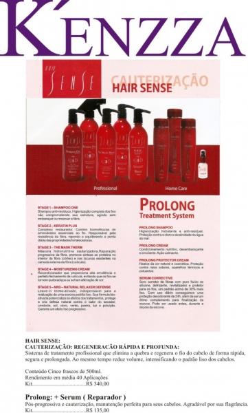 Cauterização - Deixa seus cabelos lisos e tratados.