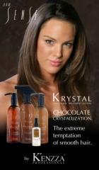 Escova krystal chocolate