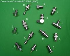 Conectores iec 169/08 - bnc