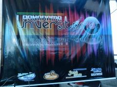 Painel panorama universitario com patrocinadores