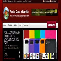 Portal casa e familia  a home do site