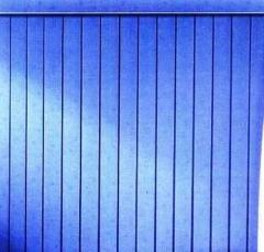 Persiana vertical azul ou outras cores e coleções