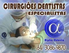 Cirurgi�es dentistas especialistas em todas as �reas odontol�gicas - (84) 3086-9870