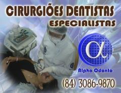 CirurgiÕes dentistas especialistas em todas as áreas odontológicas - (84) 3086-9870