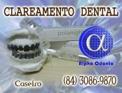 Clareamento dental caseiro - (84) 3086-9870