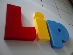 Letreiro Tic & Lip - Placa Letra Caixa em Acrílico - Em Pacajús - Ce
