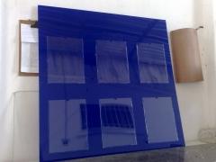 Painel display para a4 em acrílico