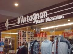 Dartagnan moda masculina - shopping cidade