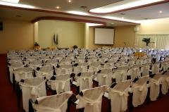 Centro de eventos para até 600 pessoas