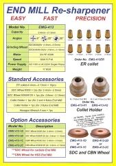 Acessorios afiadora de brocas ital produtos industriais