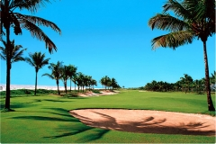 Imagem do campo de golfe