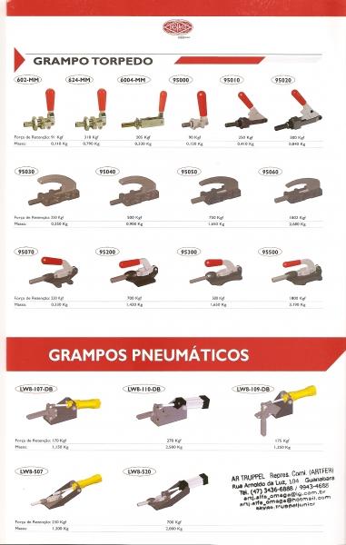 Grampos Torpedos e Pneumaticos De-sta-co Ema