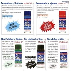 Desmoldante - oleos proteticos previsÃo presilhas