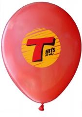 Balões gravados em até 4 cores.