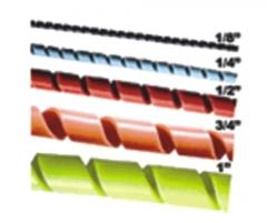 Spiraduto - organizadores e prote��o de fios e cabos