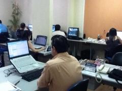 Foto departamento de desenvolvimento.