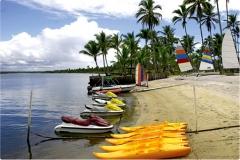 Imagens da praia