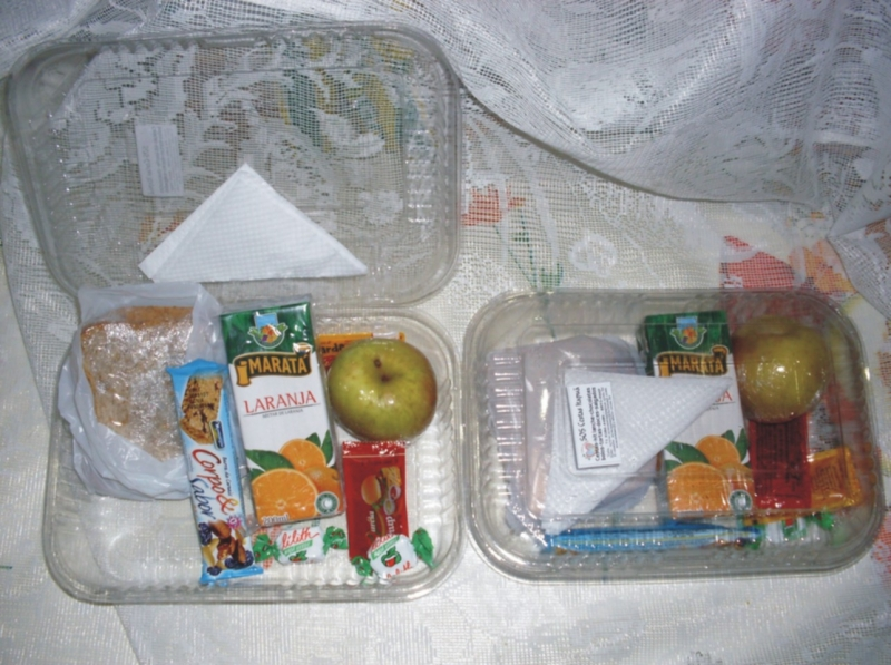 Kit lanche maleta box