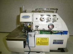Maquina overlock industrial 3 fios