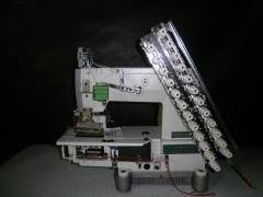 Maquina elastiqueira 12 agulhas