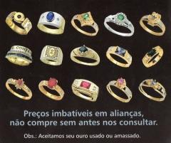 Zein arts jóias aneis de formatura alianÇas e jóias em curitiba - foto 19