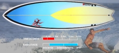 Abórigiknees Prancha de Surf