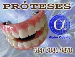 Próteses dentárias em natal - alpha odonto clínica - (84) 3086-9870