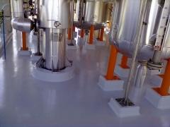 Revestimento epóxi em piso industrial