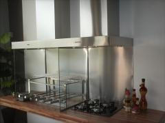 Coifa conjugada churrasqueira e fogÃo