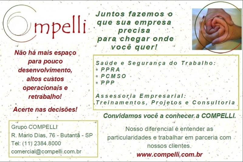 Medicina do Trabalho em São Paulo - (11) 2384-8000 - Grupo Compelli