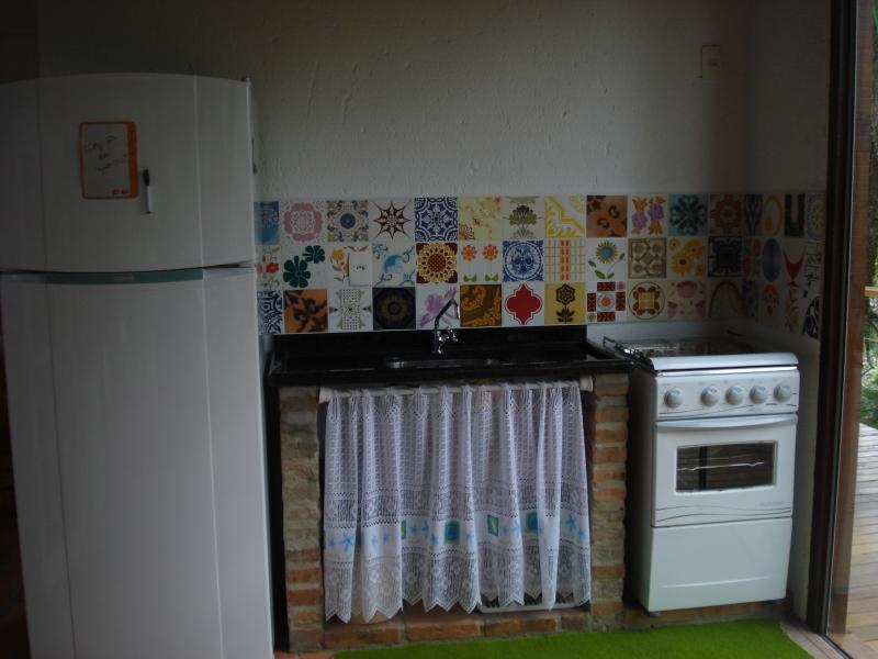 Azulejos antigos em patchwork de cozinha!