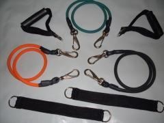 Kit rubber band com 3 el�sticos importados individuais com mosquet�o de encaixe