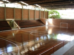 Ginásio de esportes do macabi sport center.