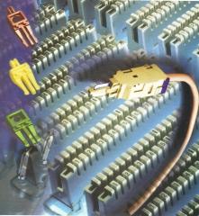 Blocos bargoa, path panel, rj 45 femea, cabos de rede e outros...