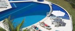 Vista a piscina
