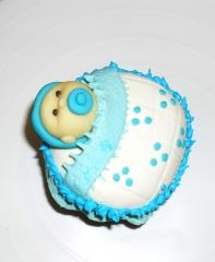 Cupcake para maternidade ou batizado