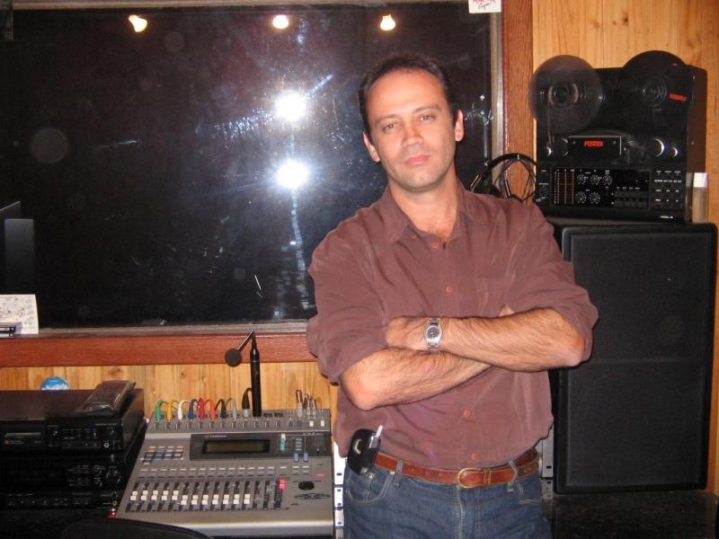 Domingos Impaléa Neto_Proprietário do estudio de gravação de audio