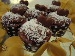 Cupcake, prestígio, casamento, gourmet, mini bolo, decorado, aniversario, personalizado, recife