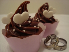 Cupcake, casamento, gourmet, mini bolo, decorado, personalizado, recife