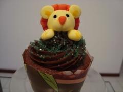 Cupcake, gourmet, mini bolo, decorado, personalizado, recife, leao