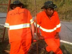 Implantação de vias marginais na rodovia raposo tavares - do km 92+745 ao km 95+400 - sondagem a trado (st).